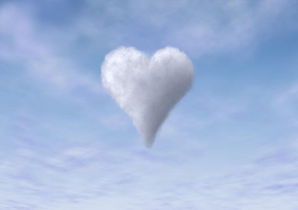 wolk van liefde